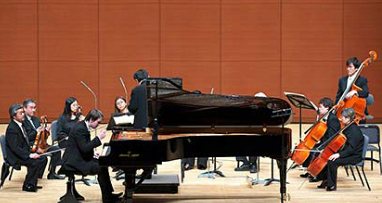 Andrei Shychko, the 2nd prize winner, performing on SK-EX at the 3rd Takamatsu International  Piano Competition