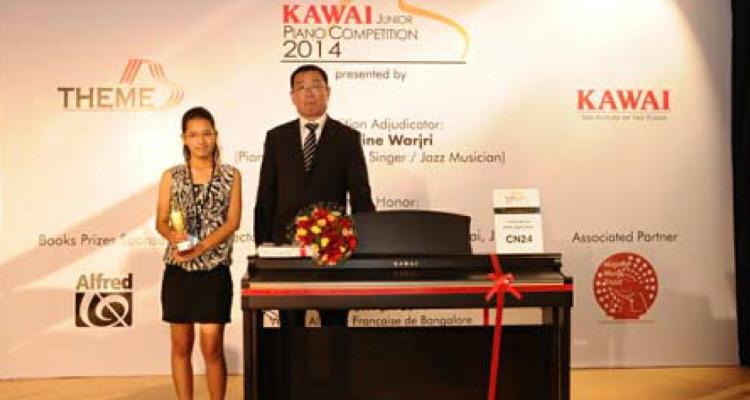 the 1st kawai junior piano competition in india piane kawai. Black Bedroom Furniture Sets. Home Design Ideas