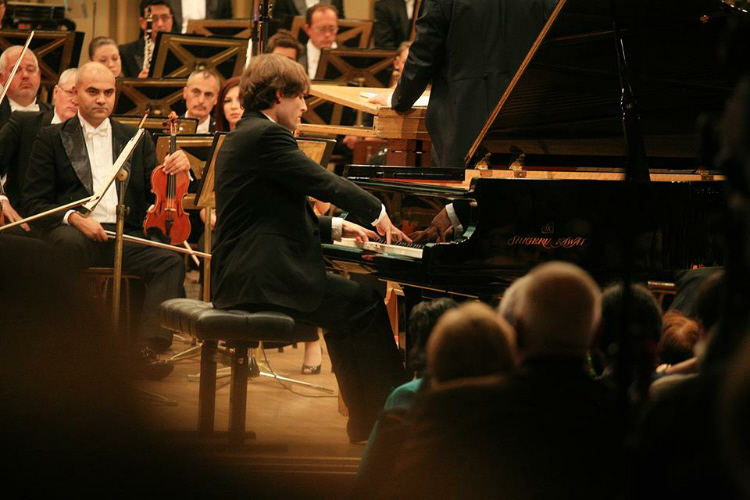 Ilya Rashkovski (Russia)second prize at the George Enescu Contest