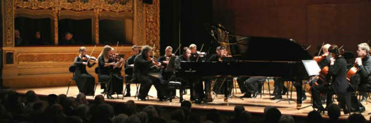 Michael Pletnev, Russian virtuoso concert pianist, conductor and composer, restarted his career as pianist.